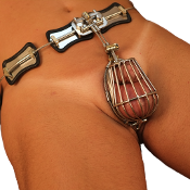 The Checkmate Chastity Belt/Cage